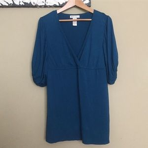 Tops - XL Peacock Blue Tunic